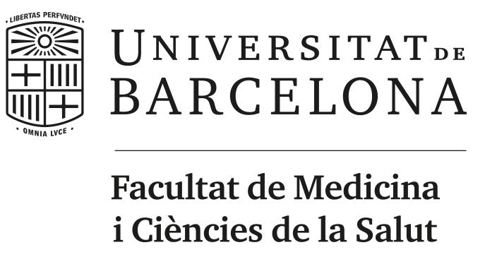 Logo UB facultat Medicina